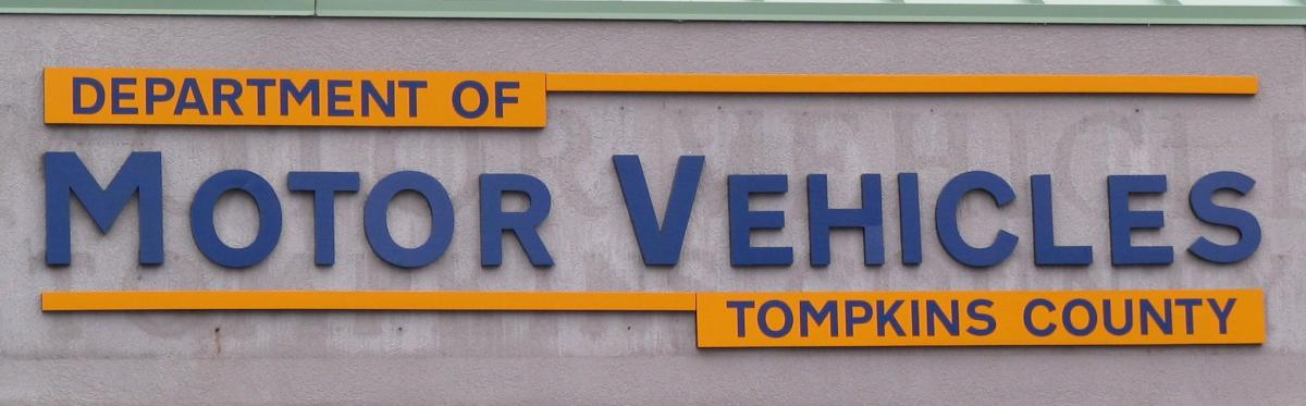 tompkins county department of motor vehicles www