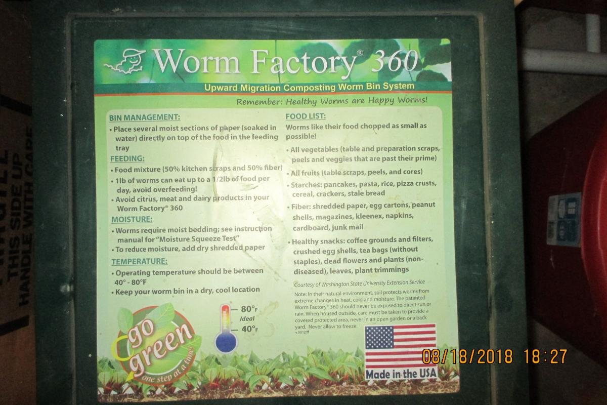 Worm Factory 360 Composting System