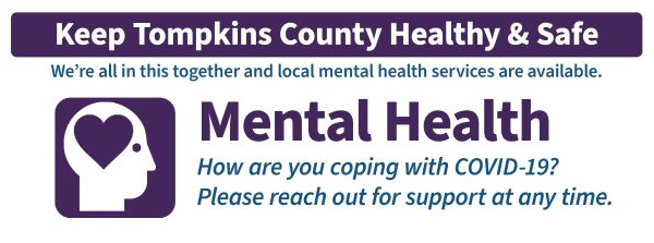 Banner for mental health