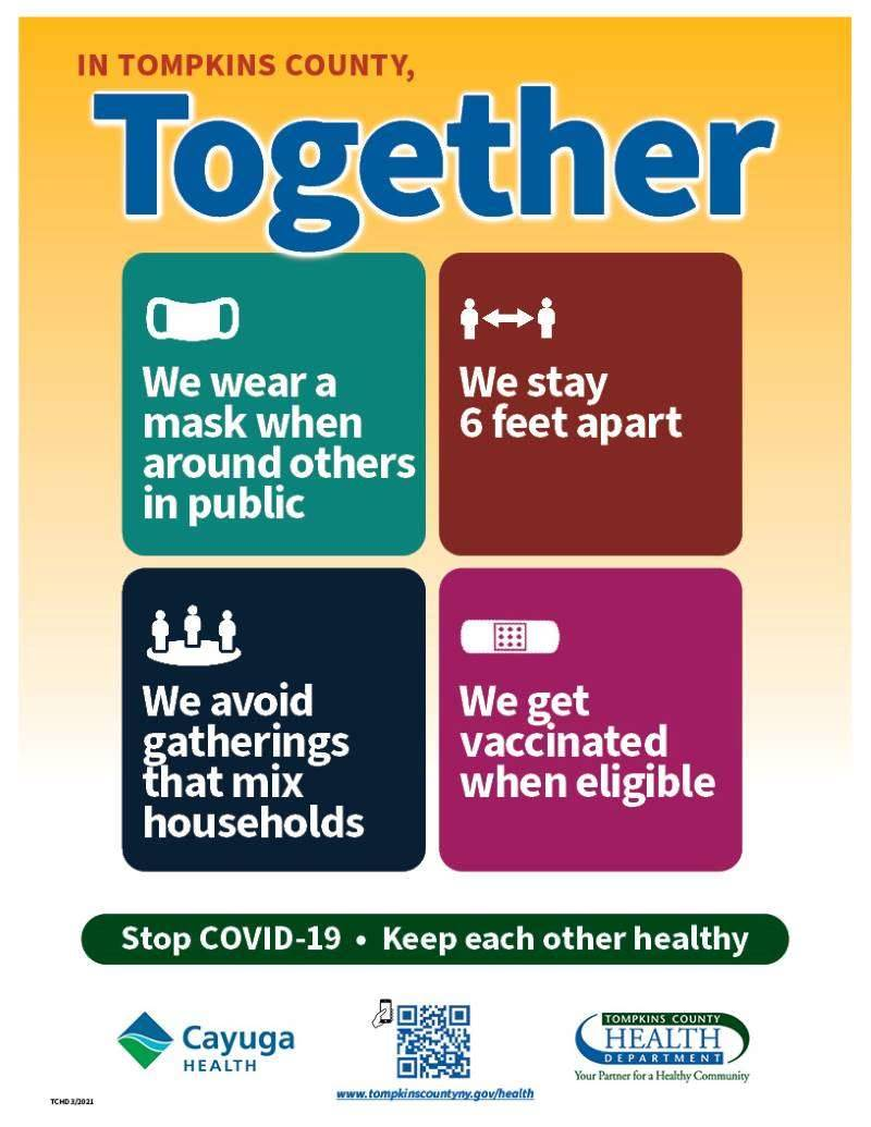 Tompkins County Together poster image