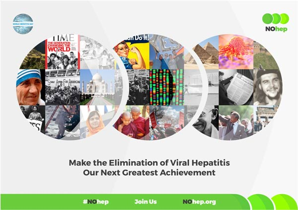 World Hepatitis Day landing page