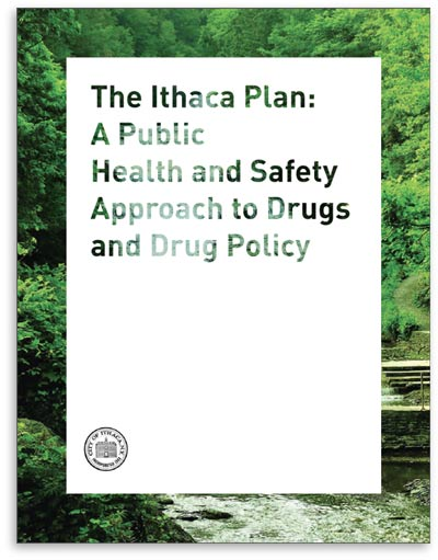 Image of the cover of The Ithaca Plan publication