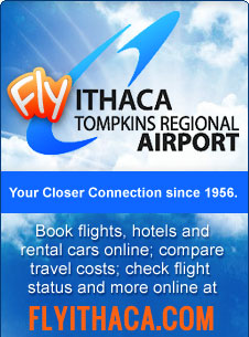 Ithaca Tompkins Reagional Airport Link
