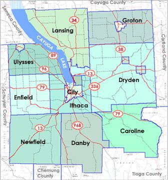 Maps  Tompkins County  Wwwtompkinscountynygov