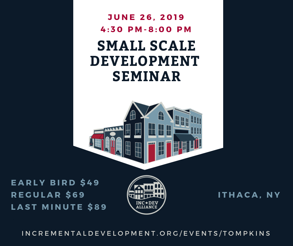 Incrementl Development Seminar June 26 4:30-8:00PM