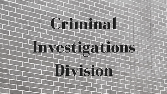 Criminal Investigations Header