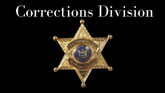 Corrections Division Header
