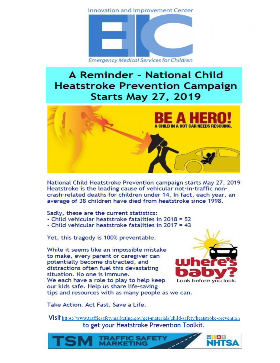 Child Heastroke Prevention Campaign-2019