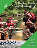 Picture of cover page for the Tompkins County Strategic Tourism Plan