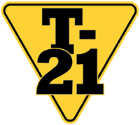 T-21 Yield Sign Logo
