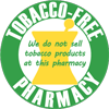 Tfree pharmacy sticker