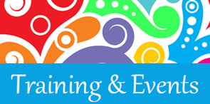 Training and events logo